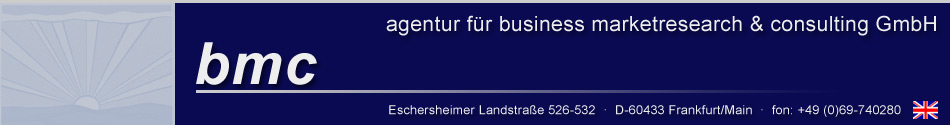 bmc - agentur für business marketresearch & consulting GmbH